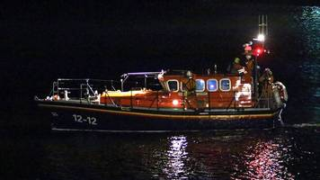 Douglas lifeboat assists after fears car had fallen over cliffs