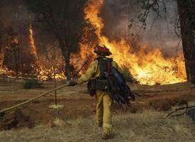 areas recently hit by california wildfires now enduring evacuations over flash floods