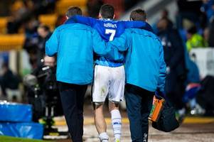 st johnstone captain joe shaughnessy gutted for team-mate drey wright
