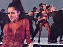 cheryl accused of 'miming' on graham norton... but fans go wild for raunchy dance moves
