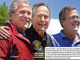 George HW Bush's son leads the way for thoughtful tributes to his dad who passed away on Friday