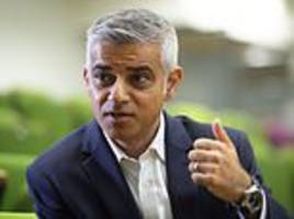 london mayor sadiq khan tells online shoppers not to have parcels sent to their offices