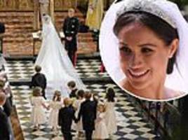 meghan kicks up a stink: 'dictatorial' bride wanted air fresheners for 'musty' st george's chapel