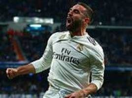 real madrid strike in either half to secure vital three points against valencia