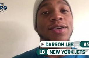 jets lb and ohio state alum darron lee predicts a 20+ point victory for the buckeyes