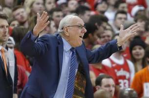 another family night for syracuse coach jim boeheim