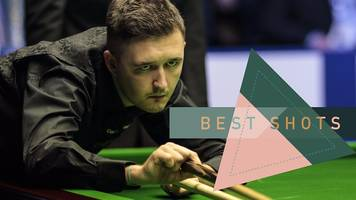 uk snooker championship: best shots as wilson makes it through to third round