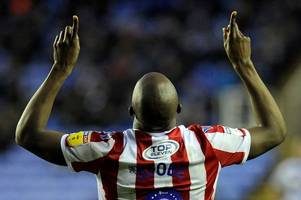 reading 2, stoke city 2: death in the potters' family makes afobe goal even more special