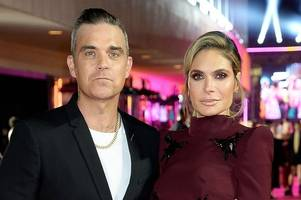 'we're stronger than ever' - robbie williams spills the beans on his marriage to ayda field since they both joined the x factor