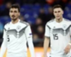 euro 2020 qualifying draw: bierhoff out for revenge as germany draw the netherlands