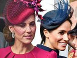 hunt for palace mole who revealed news of rift between kate and meghan
