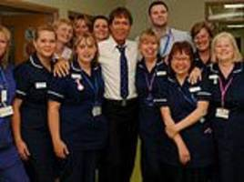 sir cliff richard among the celebrities backing daily mail campaign to recruit nhs volunteers