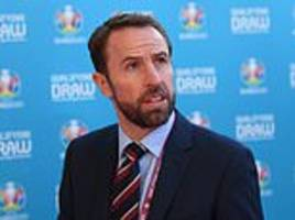 southgate says 'we've got a great shot at glory' after euro 2020 draw