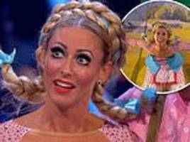 strictly come dancing: faye tozer and giovanni pernice land second 40 of the series