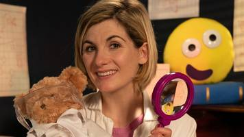 doctor who star to read cbeebies story