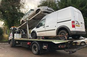 man and boy arrested in dunmow as police investigate string of vehicle crimes in braintree and uttlesford