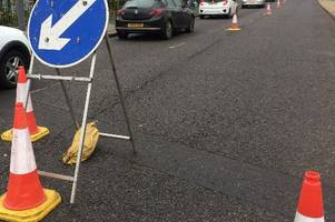 Watch out for these roadworks across the Staffordshire Moorlands this week