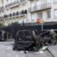 paris protests: 23 police officers among the injured