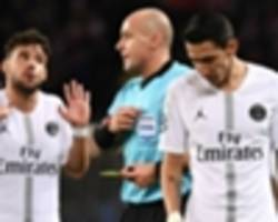 bordeaux coach: psg aren't refereed the same as other teams