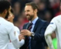 england must become used to favourites tag – southgate