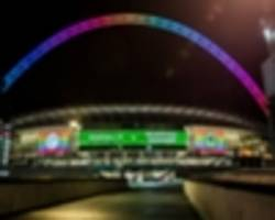 wembley hosts 'landmark' game as stonewall fc fixture 'sends powerful message to lgbt people'