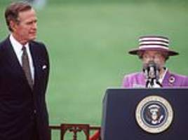 robert hardman on how the late george bush enjoyed a very special relationship with her majesty