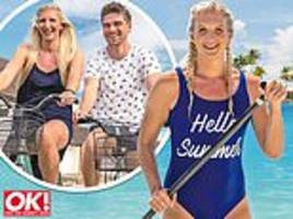 rebecca adlington reveals she has found love again after divorcing fellow swimmer harry needs