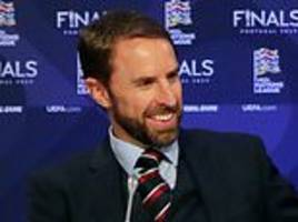 england manager gareth southgate excited after nations league draw