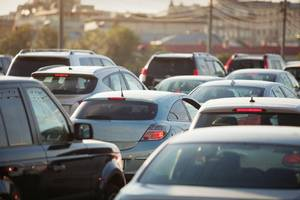 madrid's ban on polluting vehicles cuts traffic by nearly 32 percent in some areas