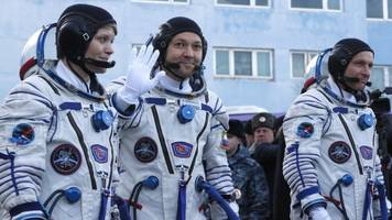 soyuz rocket: first astronauts launch into space since failure