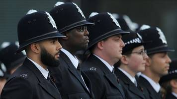 met officer numbers 'could fall to the lowest level since 2002'