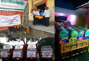 srinivasan services trust of tvs group extends rs. 1 crore worth relief to gaja cyclone affected people