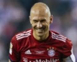 premier league return? robben leaving options open after confirming bayern exit