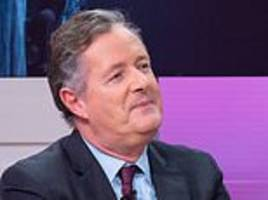 piers morgan accuses meghan markle of 'acting her way to the top'