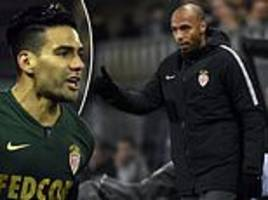 thierry henry's monaco move out of relegation zone with ligue 1 win over lille