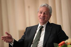 angry protesters interrupted jpmorgan ceo jamie dimon during an investor conference in new york for supporting private prisons