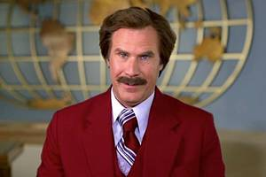 will ferrell is coming to podcasts as ron burgundy in 2019