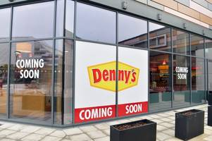 opening date revealed for scotland's first denny's restaurant