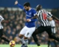 everton 1 newcastle united 1: toffees frustrated by dogged magpies