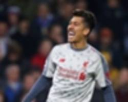 firmino proves klopp right as liverpool refuse to blink in title staredown with city