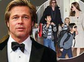 brad pitt 'got what he wanted' from custody deal for the kids he shares with his ex angelina jolie