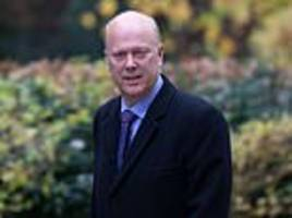 chris grayling accused of 'insulting commuters' by not stripping train company of its franchise