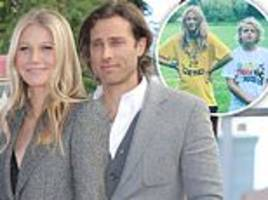 gwyneth paltrow reveals she still hasn't moved in with new husband brad falchuk