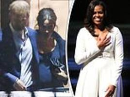 michelle obama shared pregnancy tips with meghan