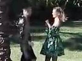 justin bieber and hailey baldwin have a wild dance off in first joint photoshoot