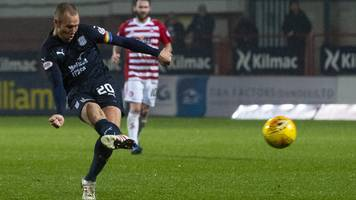 dundee 4-0 hamilton: kenny miller scores a hat-trick as mcintyre gets first dundee win