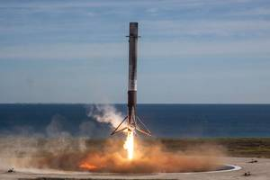 For the first time ever, a SpaceX Falcon 9 rocket fails to stick a ground landing
