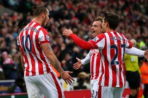 it is only three years since stoke city produced one of the club's best ever performances: remembering a day of stokelona, lashing wind, no centre-forward and battering man city