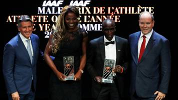 colombia's ibarguen wins iaaf awards