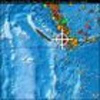 Tsunami waves spotted after earthquake off New Caledonia